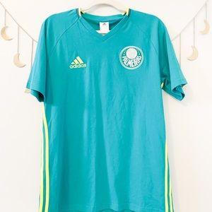 NWT Adidas Palmeiras Jersey Tee